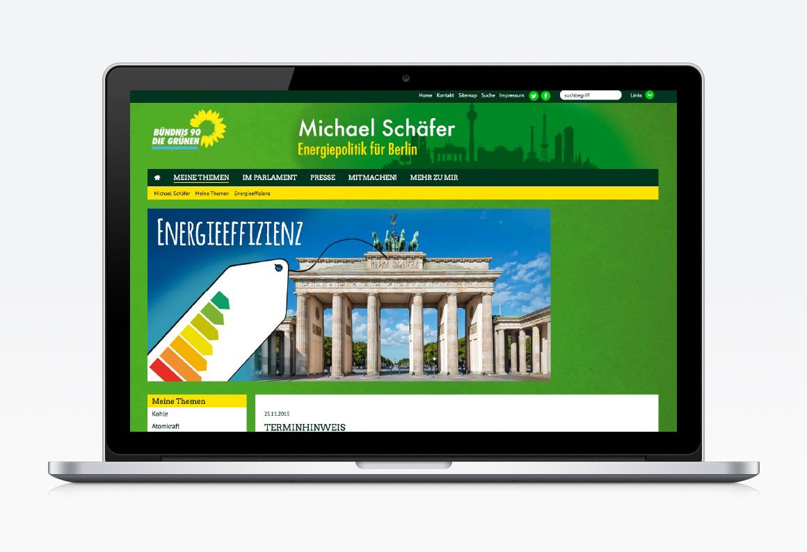 Website für Michael Schäfer
